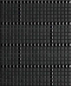 Carme Charcoal/Carbon Mosaic Tile