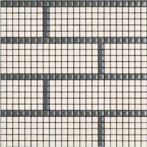 Carme Smoke/Ice Mosaic Tile