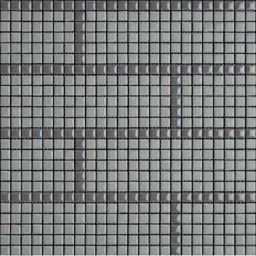 Carme Smoke/Bedrock Mosaic Tile