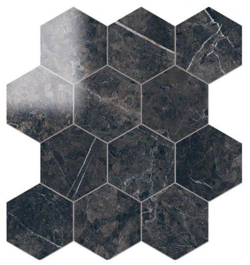 Ouranos Miranda Hexagon Mosaic Tile