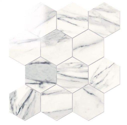 Ouranos Oberon Hexagon Mosaic Tile