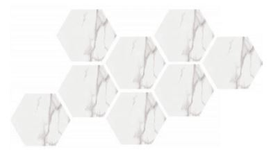 Prospero Royal Hexagonal Mosaic Tile
